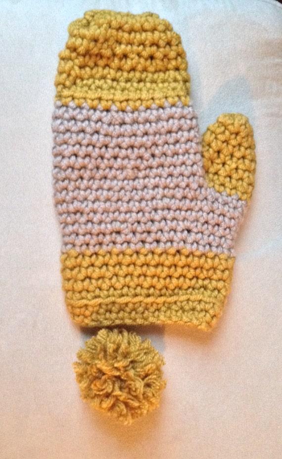 Crochet Mitten Pattern Beginners : Crochet Mittens Pattern-Advanced Beginner