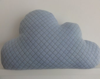 Cloud pillow light blue in various sizes