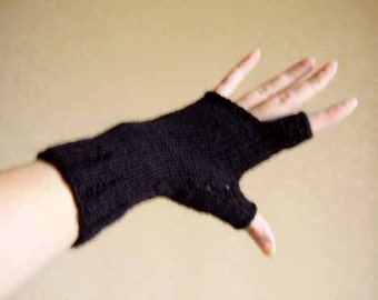 Free ship. fingerless gloves OOAK