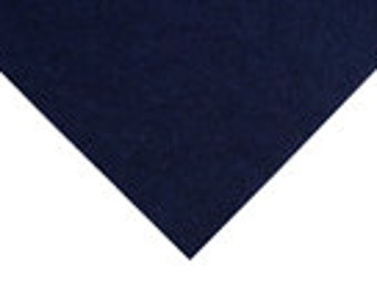 Minicraft, Handicraft Felt, Midnight, dark blue, navy, 22x22cm sheets, wool, viscose
