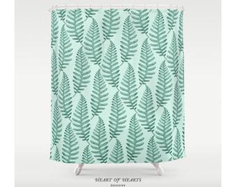 shower curtain botanical leaves shower curtain leaf shower curtain modern bathroom decor
