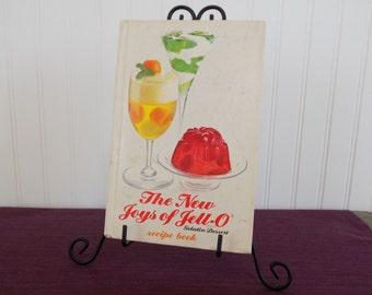 The New Joys of Jello Recipe Book Cookbook, Vintage Cookbook, 1975