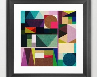 Kaku - Abstract Wall Art - Digital Art - Geometric