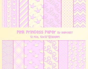 Princess Digital Gold And Pink