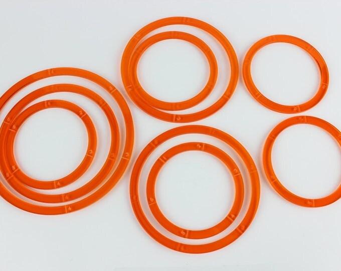 Orange - War Machine Blast/Deviation Ring Pack