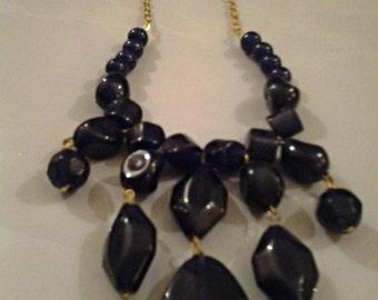 Royal Blue Royal Necklace