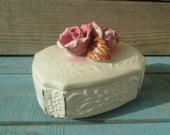 vintage trinket box