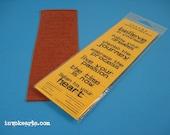 Artphrases 1 / Invoke Arts Collage Rubber Stamps / Unmounted Stamp Sets