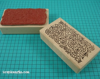 Paisley Border 2 Stamp / Invoke Arts Collage Rubber Stamps