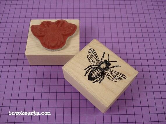 Honey Bee Rubber Stamp - photo#6
