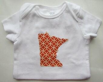 Minnesota Onesie - Short Sleeve