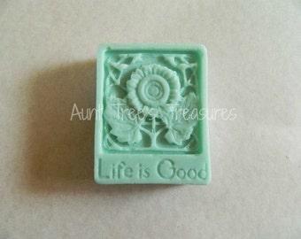 "Handmade ""Life Is Good"" Soap"