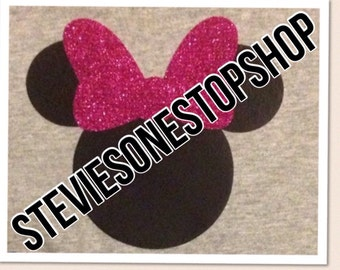 Minnie Mouse Iron on transfers