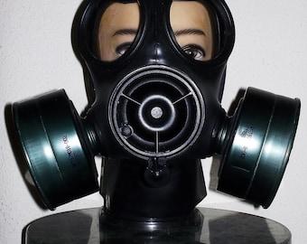 Fetish Heavy Rubber Avon SF10 Respirator SF-10 S10 Gas Mask Latex Hood by Fantomas & Co.~Customizable!