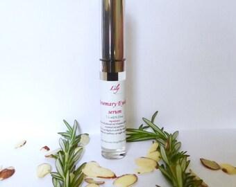 Rosemary eyelash serum. Eyebrow serum.