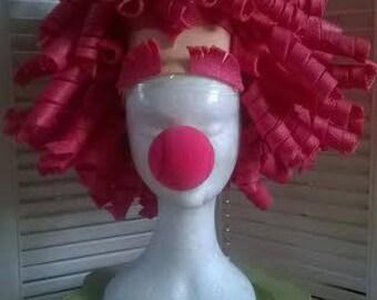 Clown Foam Wig