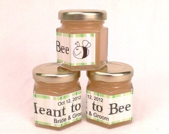 FREE SHIPPING - Meant to Bee Honey Wedding Favors