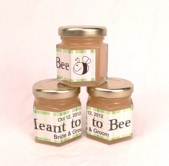 Free shipping meant to bee honey wedding favors for Honey bee wedding favors