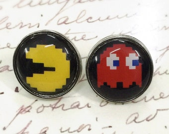 Pacman Game Earring (No.3)