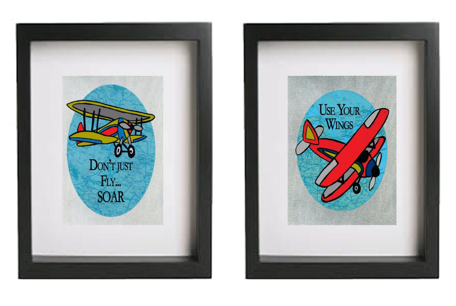 Vintage Airplane Art For Kids | www.imgkid.com - The Image ...