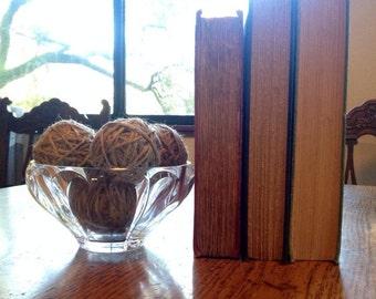 Decorative jute twine balls, bowl filler, vase filler