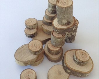 Olive wood, Building blocks, Eco friendly, Natural, Wood blocks, Waldorf toy, 25 Pieces, Wooden blocks, Wood