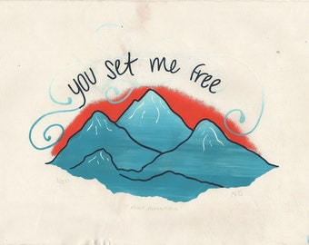 Holy Mountain Screen Print