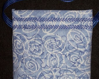 Quilted Angel Stippling Bag Embroidery Machine Design for the 4x4, 5x7 and 6x10 hoop