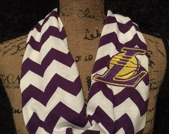 Los Angeles Lakers Infinity Scarf