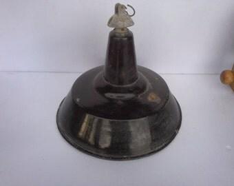 Beautiful vintage industrial lamp 1930 / 1950