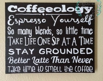 Coffeeology Chalkboard