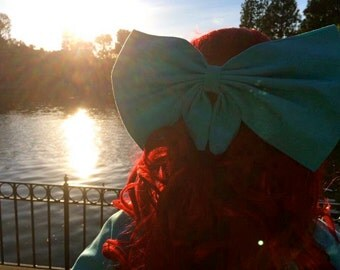 "The Little Mermaid ""Ariel"" Inspired Bow - Must be ordered by the 16th for Halloween"