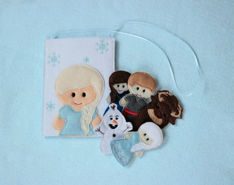 Ice World Finger Puppets