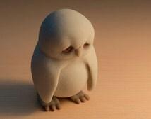 Owl it needs is love - 3d printed figurine