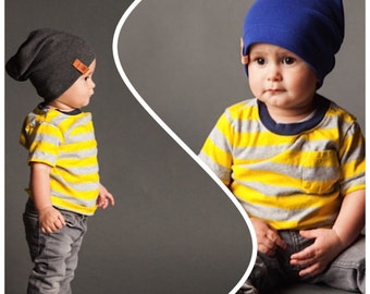 Slouchy Beanie - Double Pack - Size: 12-24M