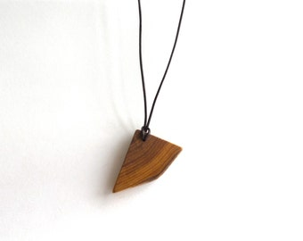 Live Edge Wood Necklace