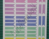 Printable Flag Stickers : Fits Erin Condren boxes