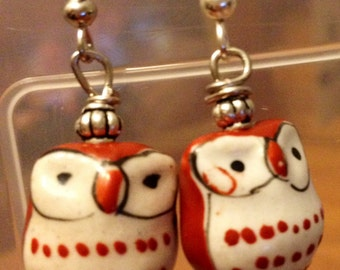 Hootiful Owl Earrings