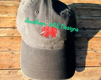 Embroidered Elephant Hat