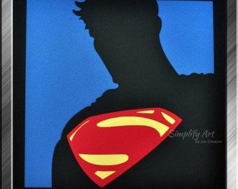 Superman Silhouette