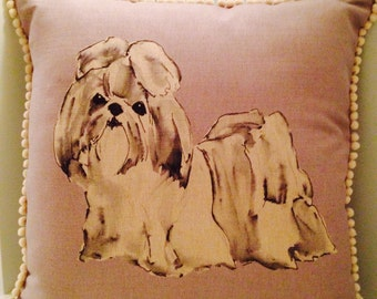 Shih Tzu Cushion