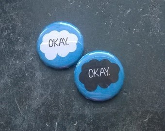 The fault in our stars -Button - Ø 3cm / 1,18 inches