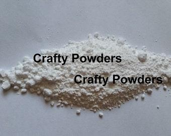 1 Gram 1g SAMPLE Matte WHITE Oxide Soap Cosmetic Base Pigment Powder