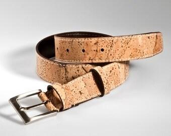 Mens Cork Belt