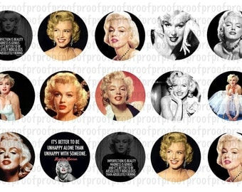 Marilyn Monroe Bottle Cap Images