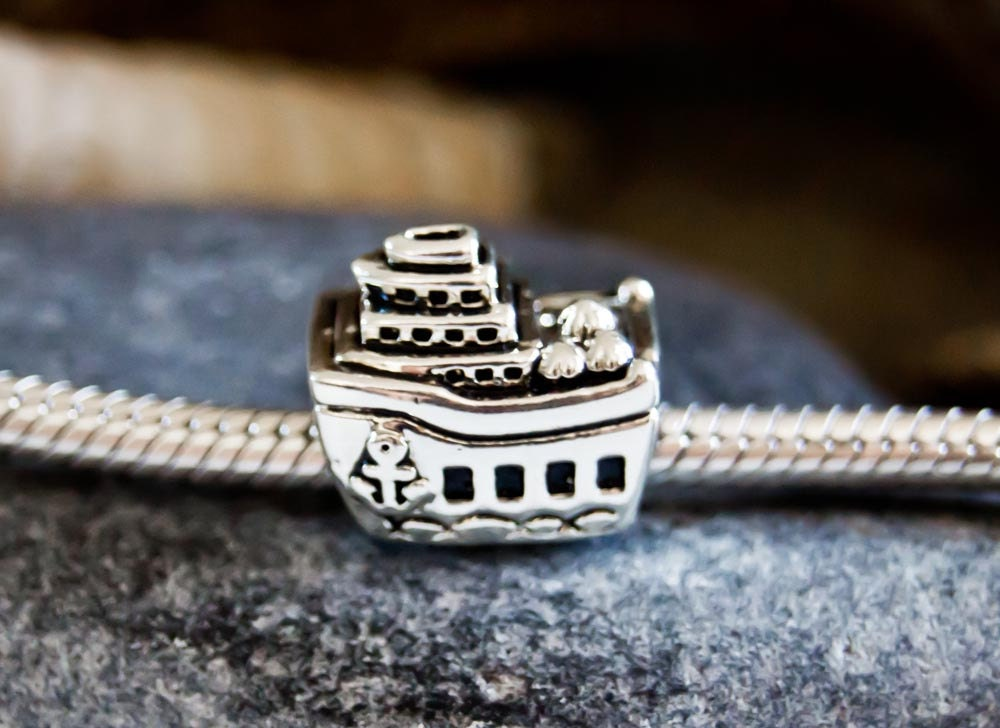 Authentic Pandora Cruise Ship  All Aboard Charm S925 ALE