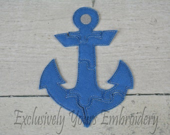 Anchor Puzzle w/Storage Pouch, Quiet Game, Toddler Toy, Travel Toy, Party Favor