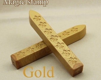 2pcs Gold Sealing Wax Sticks for Wax Seal Stamp