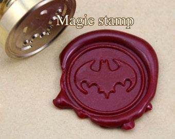 Batman Wax Seal Stamp, wedding stamp ,party wax seal stamp,initial wax seal stamp set (DZ012)