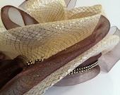 African head piece, church hat, Easter Sunday hat, Summer hat, Wedding hat, Graduation hat, Spring hats.